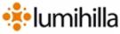 Ylläshilla kelomökki/ Lumihilla logo