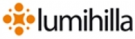Ylläshilla log cabin/ Lumihilla logo