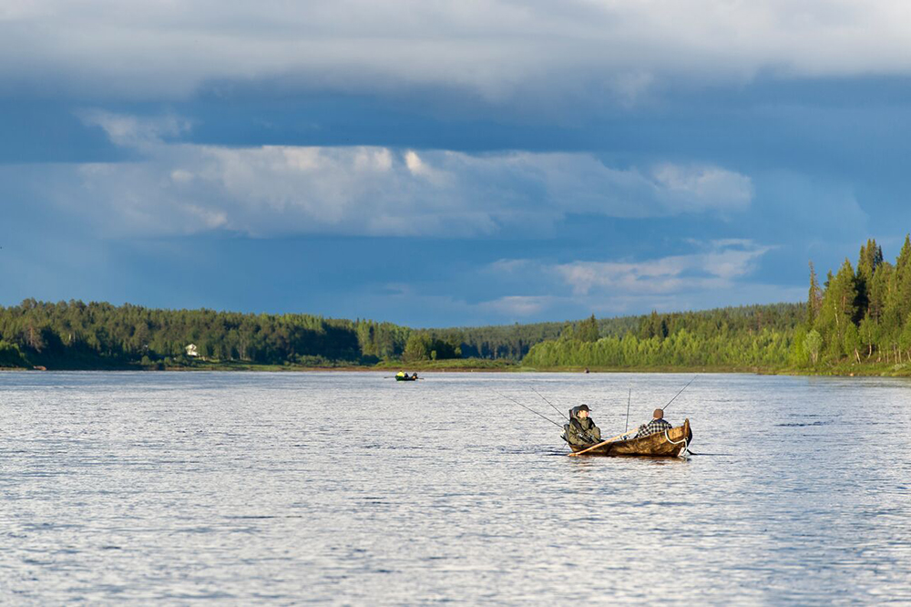 Ylläs offers perfect conditions for fishing.