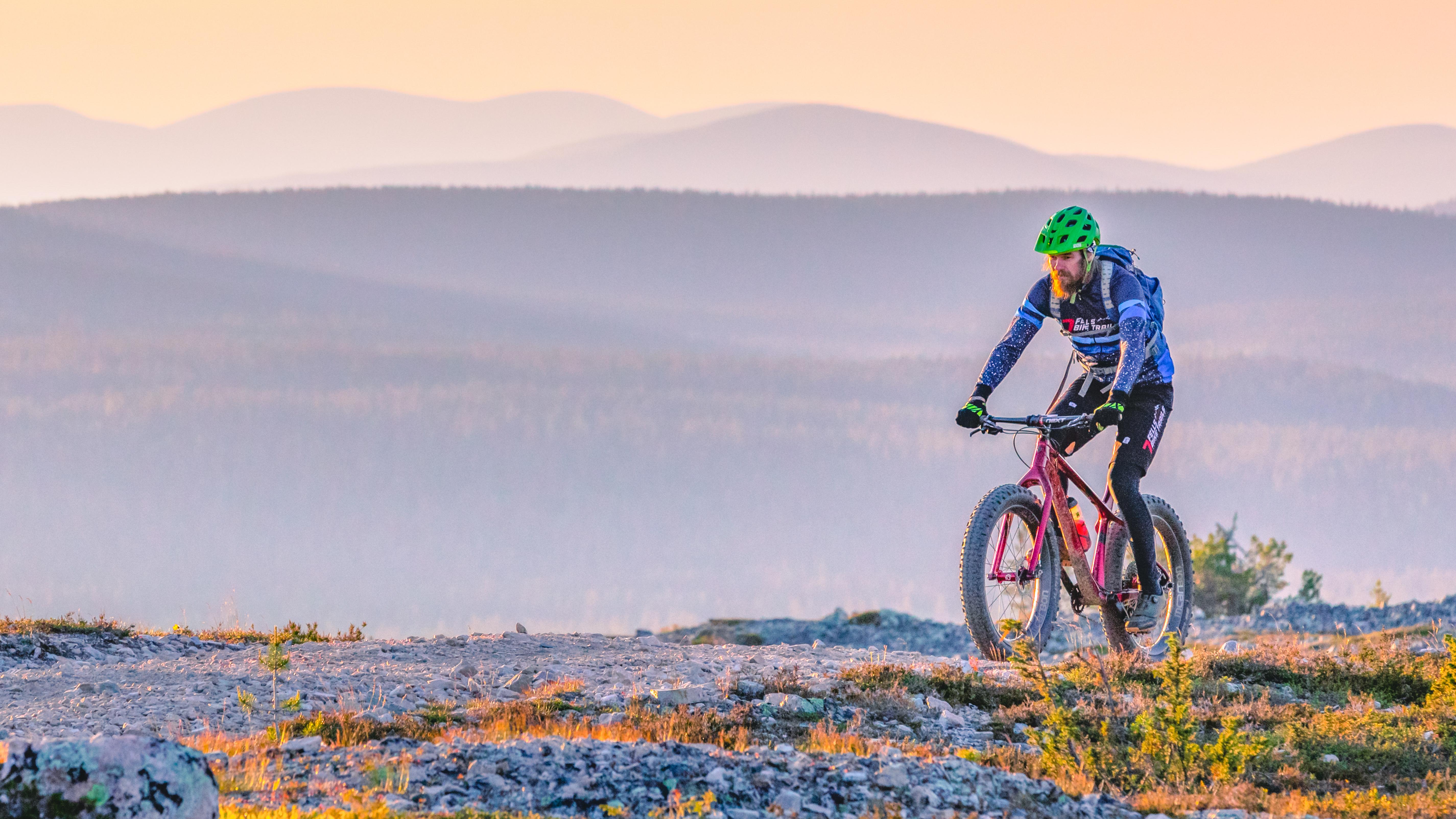 Mountain Biking in Kukastunturi