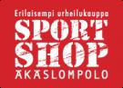 Äkäslompolo Sportshop nettivarauspalvelu logo