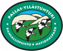 Pallas-Yllästunturi Nationalpark logo