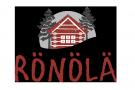 Rönölä - ein altes Holzfällerhaus am See Luosujärvi logo