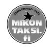 Ylläksen Pirssit Oy/Mikon taksi logo