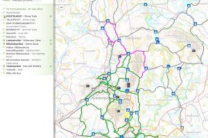 Ylläs Trail Map